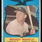 Retro Baseball Card, Mickey Mantle 1959 Topps #564 All Star