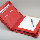 Microsoft Surface Pro 3 Business Red Leather Portfolio Kickstand and Notepad with Surface Keyboard
