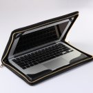Black Macbook Air 11inch Leather Cover Apple Macbook Air Business Portfolio Case