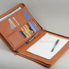 Genuine Leather Business Portfolio Case,Leather Carrying Writing Portfolio,A4 Paper Notepad