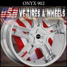 ONYX 902 20X8 5.114.3 ET+35 CHROME WHEELS  CHEVY IMPALA