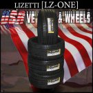 2453022  Lizetti  One     New Tires  245/30/22  W