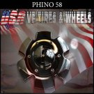 PHINO58  CHROME CAP               PART#CSPW58-1P  VELOCITY U2  TYFUN