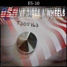 F5-10 PUSH THRU   CHROME CAP    WHEELS         #TJ05163/F5-10