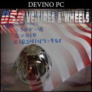 DEVINO CAP  PUSH THRU PC1   PANTHER  WHEELS  #DV-MI-S305-18-DV010/X1834147-9SF