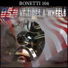 BONETTI  104  CHROME CAP    WHEELS         #PD-CAPSX-P5131