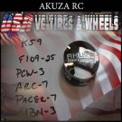 AKUZA Road Concepts Push thru Cap  Wheels     PANTHER  AKUZA CAPS