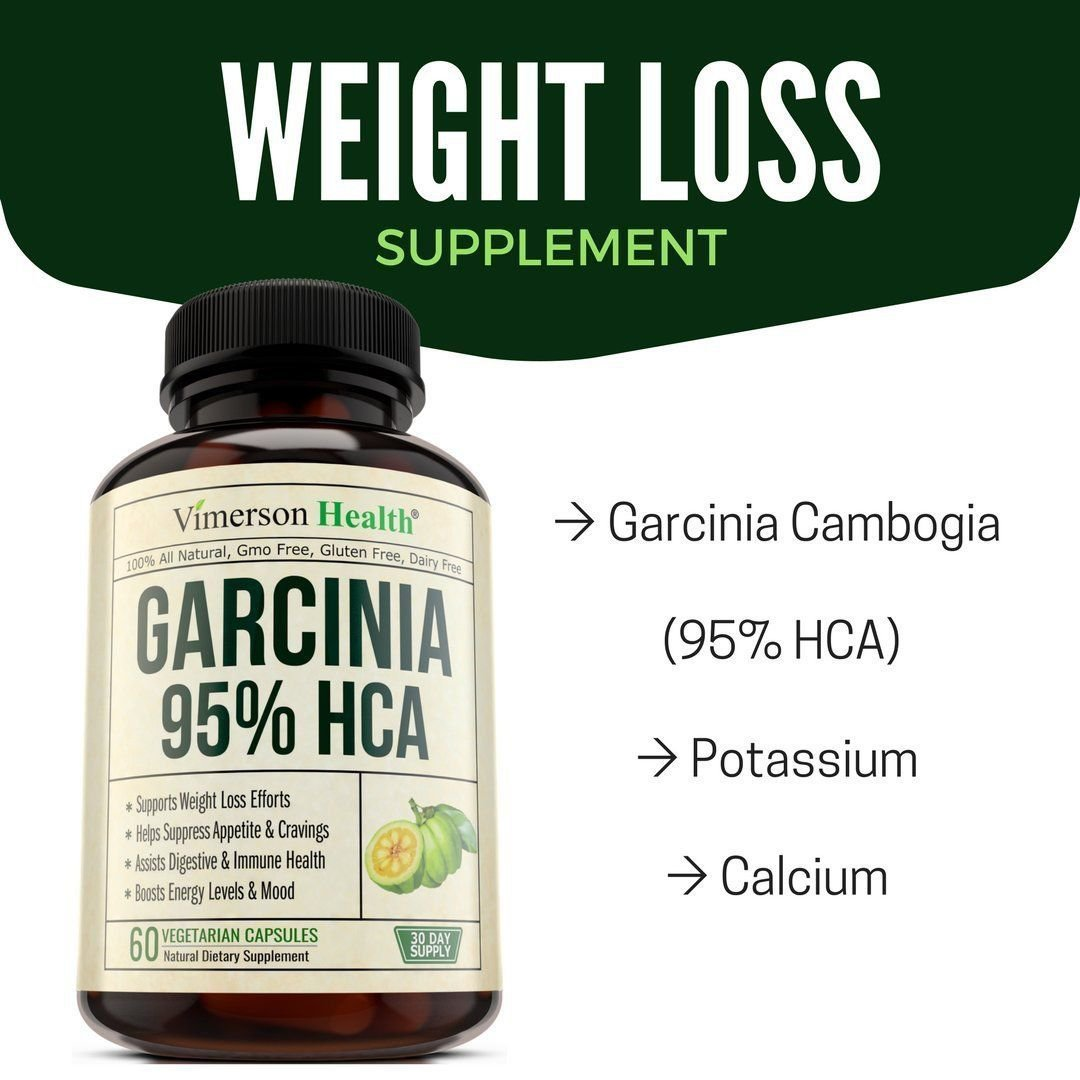 95 Hca Garcinia Cambogia Extract Weight Loss Supplement Appetite Suppressant
