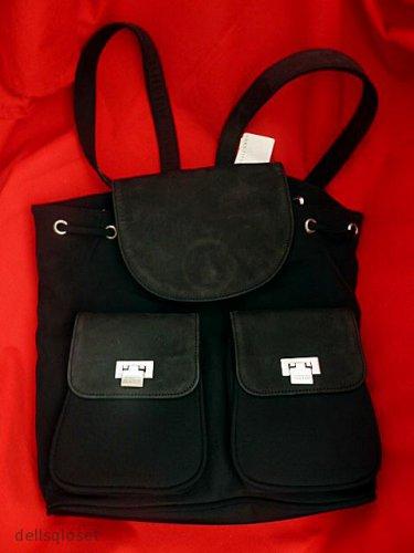 *NWT* KENNETH COLE REACTION - Saks Fifth Avenue - $110 Black Backpack Bag