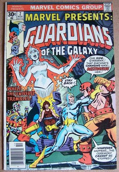 Guardians of the Galaxy Comic Book - No. 7 November 1976