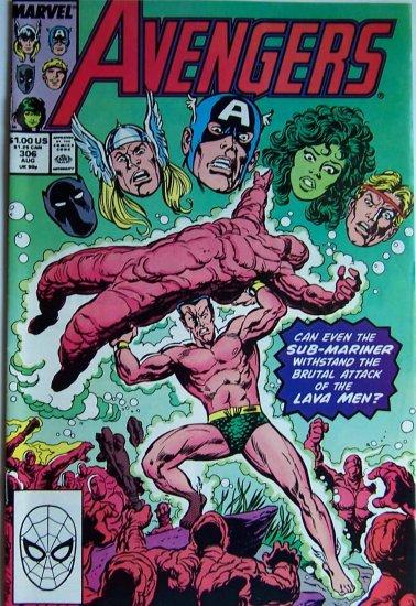 Avengers Comic Book - No. 306 - August 1989