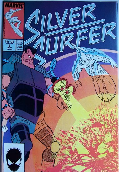 Silver Surfer Comic Book - No. 5 - November 1987