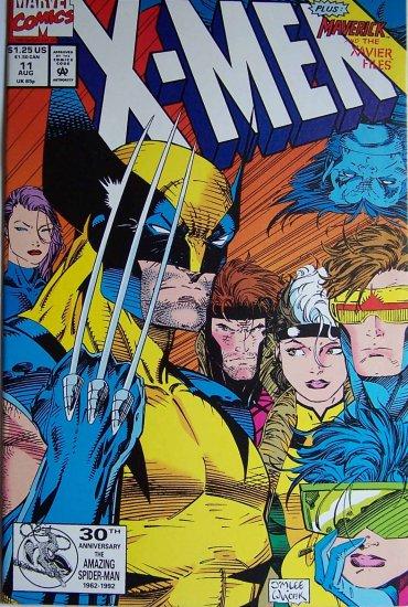 X-Men Comic Book - No. 11 August 1992