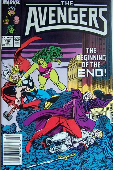 The Avengers Comic Book - No. 296 - October 1988