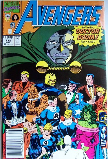 The Avengers Comic Book - No. 332 - May 1991