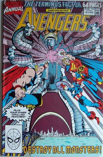 Avengers  Comic Book - Annual No. 19 - 1990