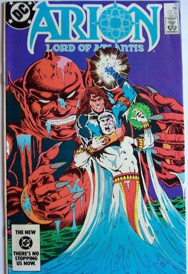 Arion Lord of Atlantis Comic Book - No. 19 - May 1984