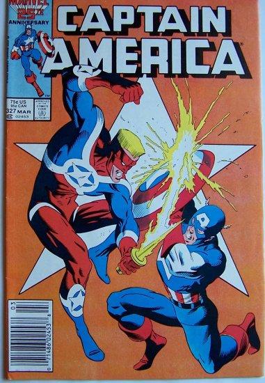 Captain America Comic Book - No. 327 - March 1987