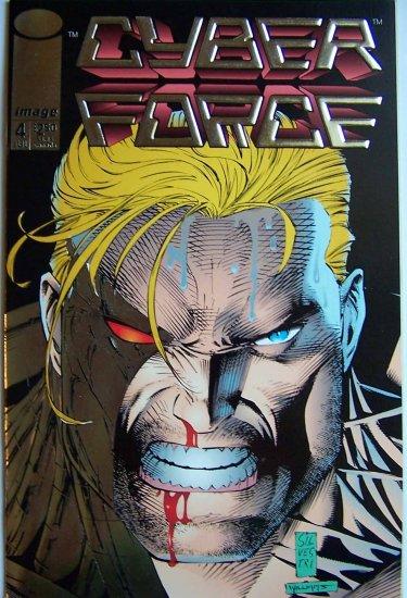 Cyber Force Comic Book - No. 4  July 1993