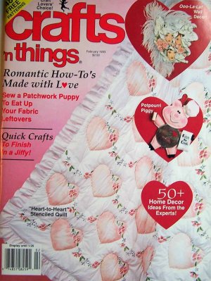Crafts 'n Things Magazine - February 1993