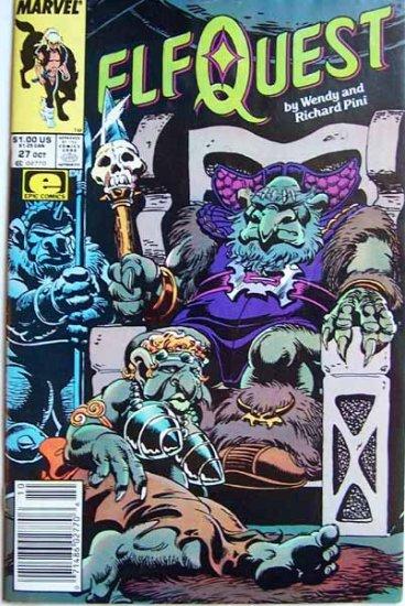 Elf Quest Comic Book - No. 27 - October 1987