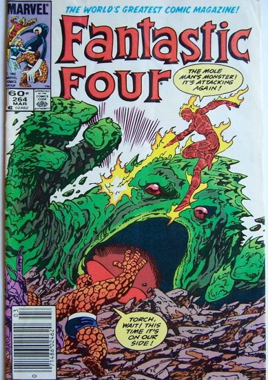 Fantastic Four Comic Book - No. 264 - March 1984
