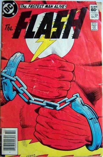 The Flash Comic Book - No. 326 - October 1983