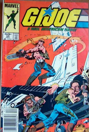 G.I. Joe Comic Book - No. 30 - December 1984