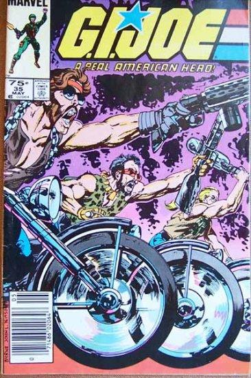 G.I. Joe Comic Book - No. 35 - May 1985