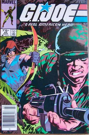 G.I. Joe Comic Book - No. 45 - March 1986