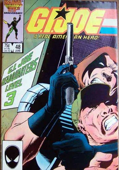 G.I. Joe Comic Book - No. 48 - June 1986
