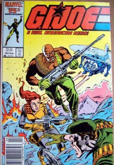 G.I. Joe Comic Book - No. 56 - February 1987