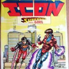 Worlds Collide Icon Superboy Meets Girl Comic Book - # 15 - July 1994