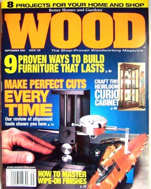 Wood Magazine - September 2003 Issue 150