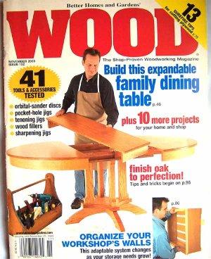 Wood Magazine - November 2003 Issue 152