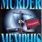 Murder in Memphis by Dorris D. Porch and Rebecca Easley - Signed by Both Authors (Hardcover)