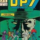 D.P.7 Comic Book - Annual No. 1 - January 1987