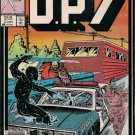 D.P.7 Comic Book - Volume 1 No. 3 - January 1987