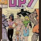 D.P.7 Comic Book - Volume 1 No. 1 - November 1986