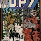 D.P.7 Comic Book - Volume 1 No. 10 - August 1987