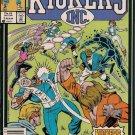 Kickers Inc. Comic Book - Volume 1 No. 5 - March 1987