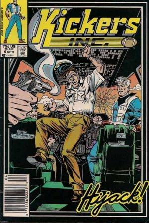 Kickers Inc. Comic Book - Volume 1 No. 6 - April 1987