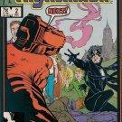 Nightmask Comic Book - Volume 1 No. 2 - December 1986