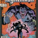 Nightmask Comic Book - Volume 1 No. 6 - April 1987