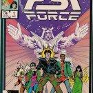 PSI Force Comic Book - Volume 1 No. 1 - November 1986