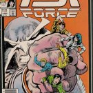 PSI Force Comic Book - Volume 1 No. 3 - January 1987