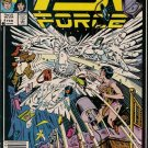 PSI Force Comic Book - Volume 1 No. 4 - February 1987