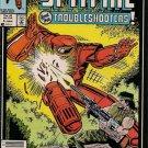 Spitfire Comic Book - Volume 1 No. 4 - January 1987