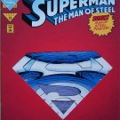 Superman The Man of Steel Comic Book - No. 22 June 1993 Die-cut Cover