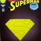 The Adventures of Superman Comic Book - No. 501 June 1993 with Die-cut Cover